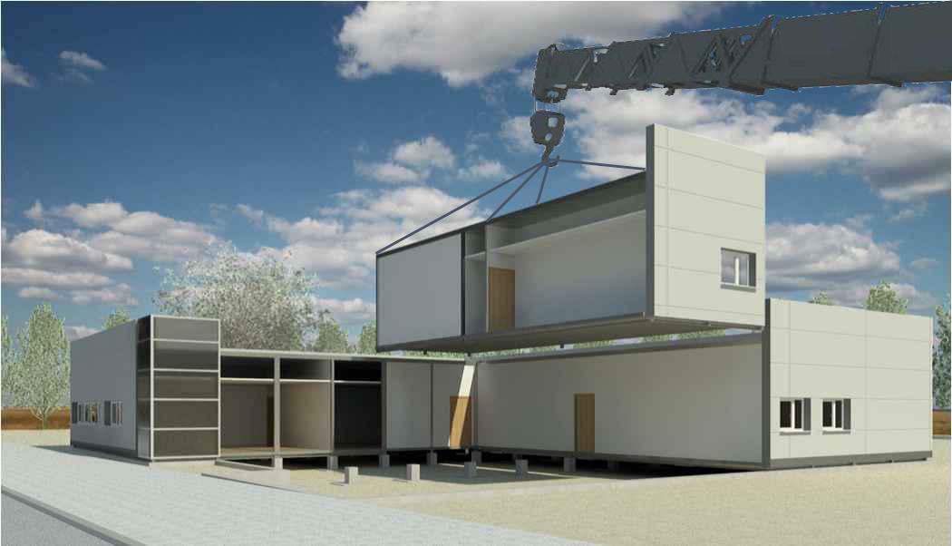 Construcci n modular como alternativa sostenible for Construccion modular prefabricada